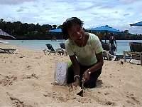 Sosua Beach Sand